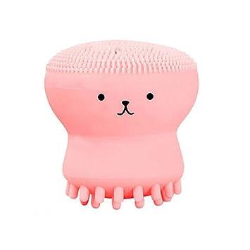 Amazon.com: Cepillo facial Octopus de silicona limpiador ...