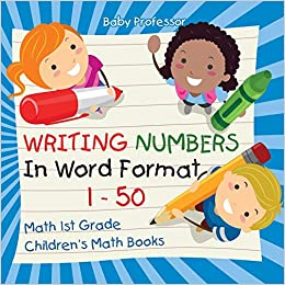 Buy Writing Numbers In Word Format 1 - 50 - Math 1st Grade