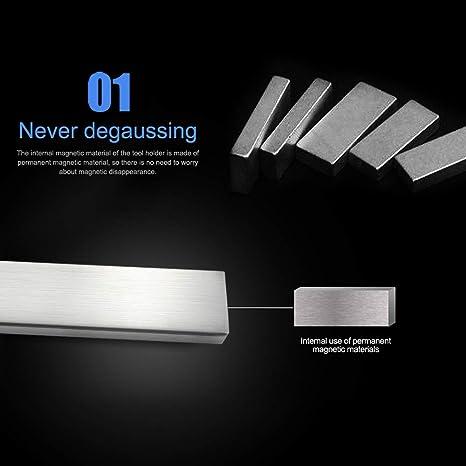 Magnetische selbstklebende 31 cm Laenge Messerhalter Edelstahl 304 Block 2kr 1X