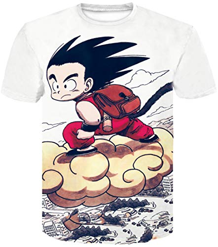 057 Flychen Cartable 3d Homme Impression Saiyan Super Vegeta Dragon shirt Son T Ball Goku OfrCOwqx