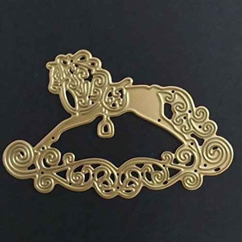 Embossing Metal Stencil (Metal Cutting Dies Stencil Scrapbooking Photo Paper Cards Crafts Embossing DIY by TOPUNDER Q)