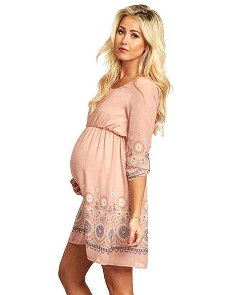 NiSeng Mujeres Impresión Embarazadas Fotografía Props Embarazada Vestido Accesorios De Fotografía Embarazadas Trajes De Fotografía Vestido