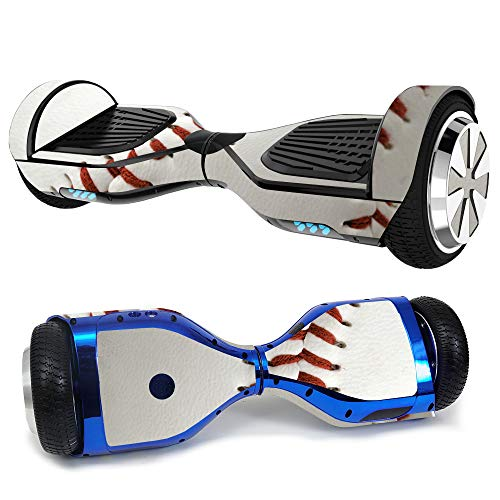 MightySkins Skin Compatible with Hover-1 H1 Hoverboard Scooter - Baseball | Protective, Durable, and Unique Vinyl Decal wrap Cover | Easy to Apply, Remove, and Change Styles | Made in The USA