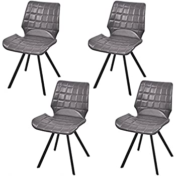 Amazon Com Festnight Set Of 4 Home Kitchen Dining Chairs