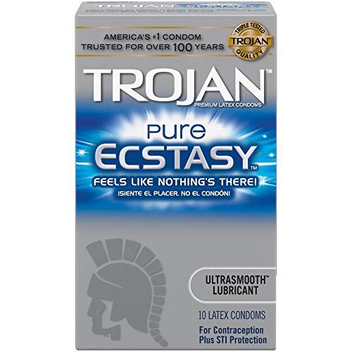 (Trojan Pure Ecstasy Condoms, 10ct)