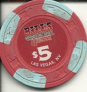 $5 bill's gambling hall las vegas casino