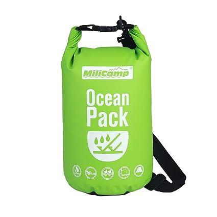 Amazon.com: Milicamp - Bolsas impermeables y secas, bolsa ...