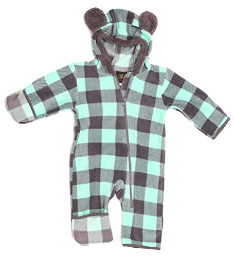 Just Love 87001-CHAMNT-24MO Baby Girls Fleece - Down Suit