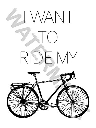 wee ride bike trainers4me Enclosed Trailers with Finished Walls sport i want to ride bike cycling wall art print poster 12x16 hp4195