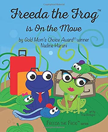 Freeda the Frog is on the Move