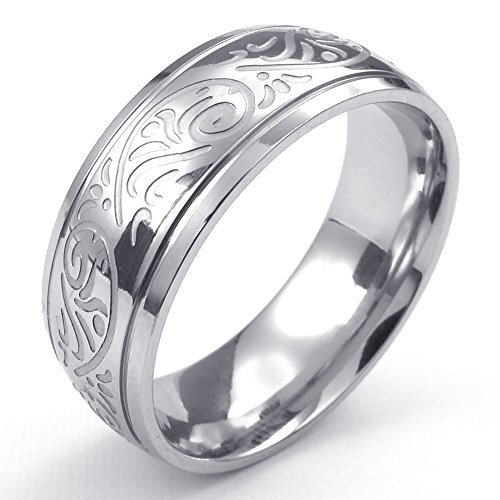 temego-jewelry-womens-stainless-steel-ring-vintage-flower-engraved-band-silver