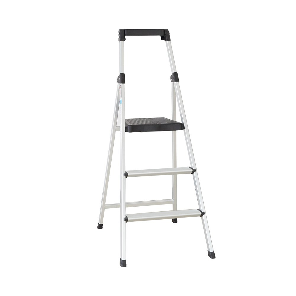 Livebest Folding Portable Aluminum Alloy 3 Steps Anti-Slip Ladder Step Stool with Project Top and Standing Platform 330Lbs Load Capacity - - Amazon.com  sc 1 st  Amazon.com : jml folding plastic step stool - islam-shia.org