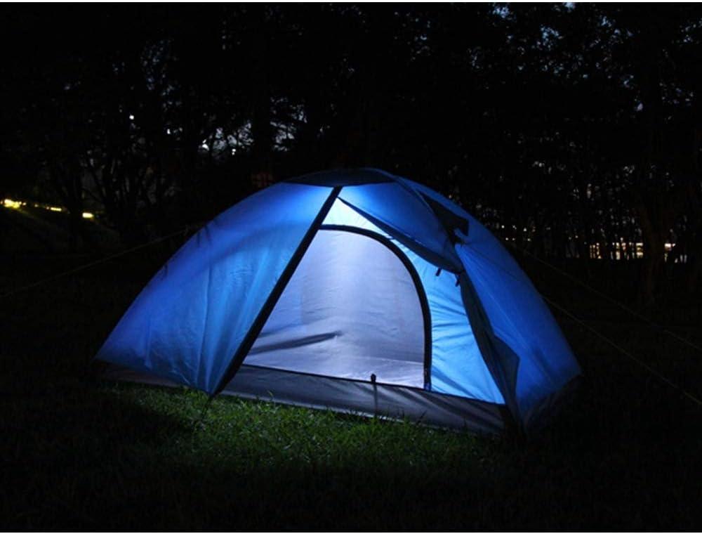 XINCHAOZ Tienda de Campaña Resistente Impermeable para 1 a 2 Personas Acampada al Aire Libre y Senderismo A