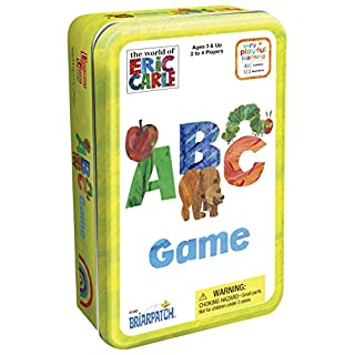 Briarpatch The World of Eric Carle ABC Game Tin, Multi/None (01282)