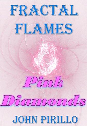 Fractal Flames Pink Diamonds