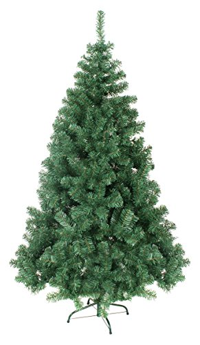 benefitusa new classic pine christmas tree artificial realistic natural branches unlit 37 l green - Amazon Christmas Trees
