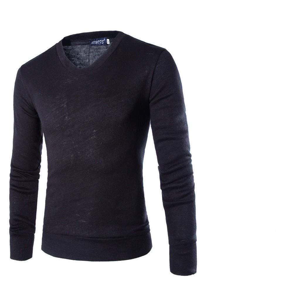 cheap for discount c9418 6cc22 Sportbekleidung Langmotai Pullover Der Pullover Männer V ...