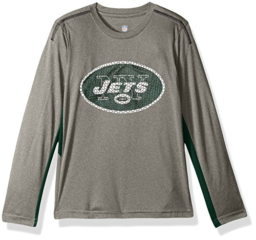 "NFL Boys 47 ""Mainframe"" Long sleeve Performance Tee – DiZiSports Store"