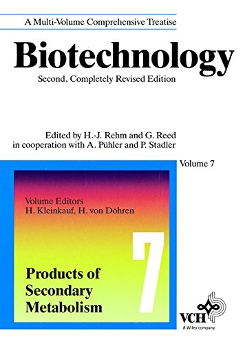 Biotechnology, 2E, Vol. 7, Products of Secondary Metabolism