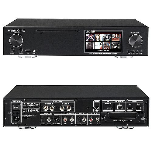 Cocktail Audio X30 All-In-One HiFi Audio System with Music Server/Network Streamer/CD Storage Ripper/Amplifier -- BLACK by Cocktail Audio (Image #2)