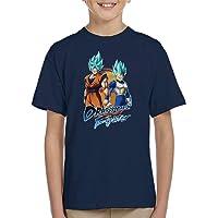 Cloud City 7 Dragon Ball Z Goku Vegeta Fighter Kid's T-Shirt