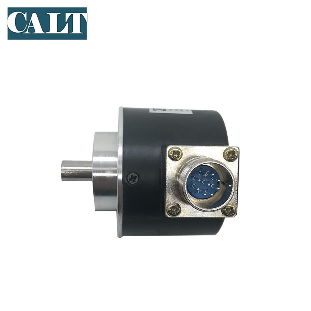 4096ppr, 5-26V pushpull 58mm Outer Diameter 10mm Optical Incremental Rotary Encoder 200 500 600 1000 1024 2000 2500 4096 PPR Resolution