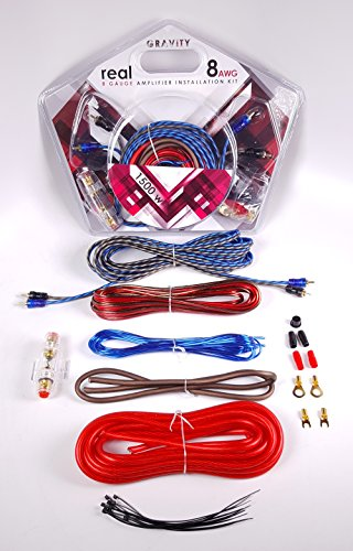 Amplifier Wiring Kits 8 Gauge - 9