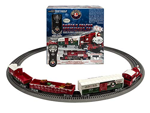 Lionel Santa's Helper Christmas Lionchief Set