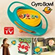 Gyro Bowl- Spill Resistant Kids Gyroscopic Bowl with Lid, Garden, Lawn, Maintenance