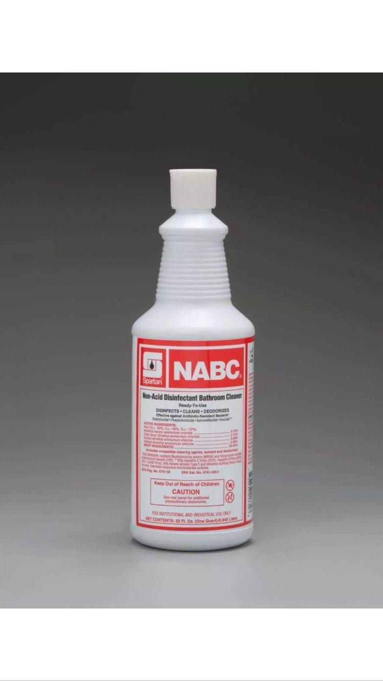 Amazon Com Spartan Nabc Non Acid Disinfectant Bathroom