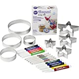 Wilton Draw and Doodle Cookie Decorating Set, 6-Piece