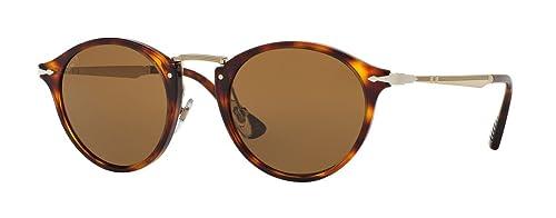 Persol 0PO3166S, Gafas de sol unisex, polarizados, Marrón (Havana 24/57), 51