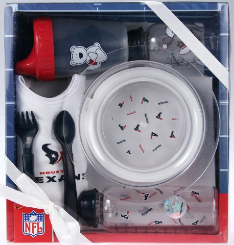 - Outerstuff Houston Texans NFL Football Newborn Baby Necessities Gift Set