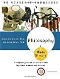 Philosophy Made Simple, Richard H. Popkin and Avrum Stroll, 0385425333