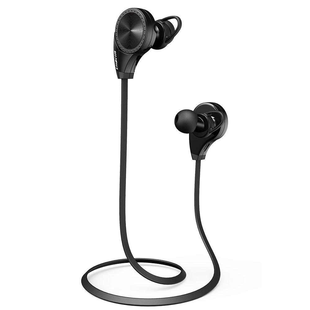 Ecandy Bluetooth 4.0 Wireless Stereo Deportes / marcha y Gimnasio / ejercicio Auriculares Auriculares de manos libres Bluetooth Headset con micrófono para Iphone 6 5s 5c 4s 4, iPad 2 3 4 Nuevo iPad, iPod, Android, Samsung Galaxy, Teléfonos