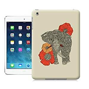 LarryToliver Animal painting patterns The Elephant case battery cover for ipad mini