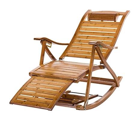 Z-JJLX Tumbonas, sillas Plegables para el Almuerzo, balcón ...