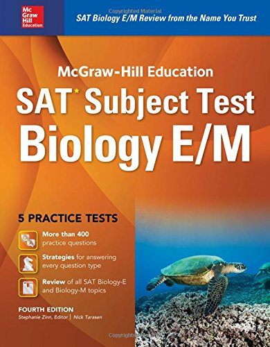 McGraw-Hill Education SAT Subject Test Biology E/M 4th Ed.