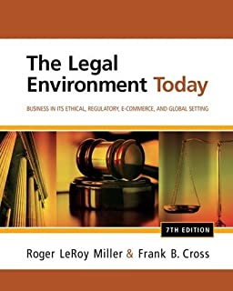Amazon intermediate accounting 9781133957911 earl k stice the legal environment today business in its ethical regulatory e commerce fandeluxe Choice Image