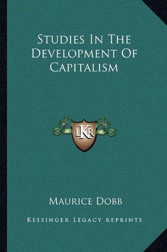 Studies In The Development Of Capitalism pdf