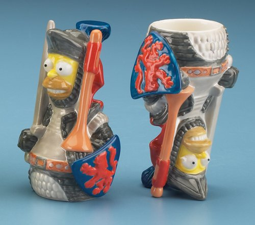 Homer Knight Porcelain Shot Glass 2oz