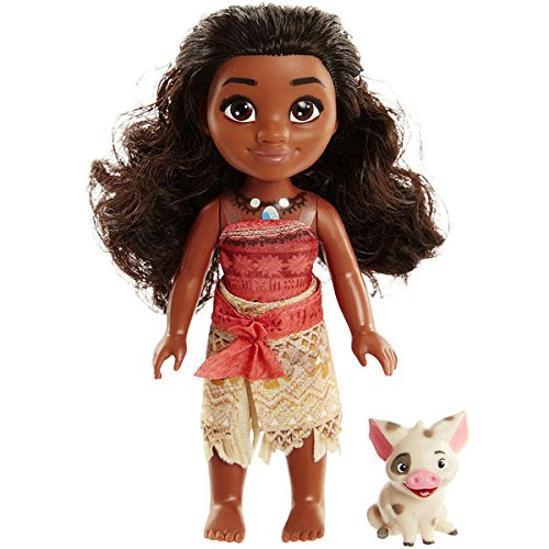 Disney Moana Petite Adventure Doll with Pua 99554-CA-4