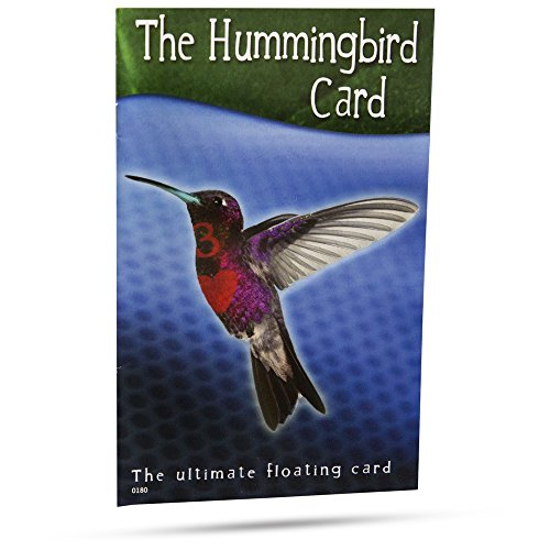 The Hummingbird Card - The Ultimate Floating Card Magic Trick -