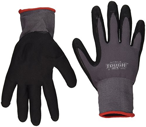 Bellingham Glove 3702 Nitrile Tough GT with Micro Foam Gloves, Small
