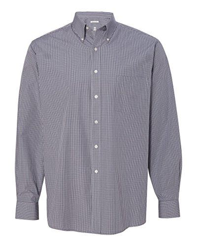 - Van Heusen Women's Coolest Comfort Check Shirt-13V0411-XXL-Shadow