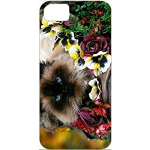 DIY Apple iPhone 5S Case Customized Gifts Personalized With Animals garden variety Animals Birds White