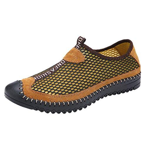 知覚的手がかり値するLANSI(レンシー)メンズ スニーカー ウオーターシューズ メッシュ 軽量 通気性 水陸両用 ビーチサンダル スリ ッポン カジュアル スポーツ 靴