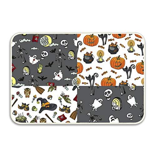 (FunnyLife Halloween Party Durable Indoor/Outdoor Door Mats Home/Bedroom/Living Room/Garden)