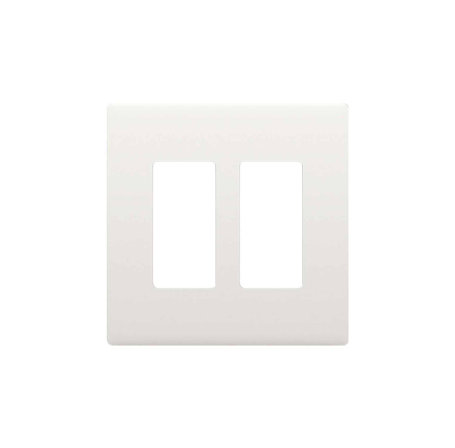 Noon Smart Lighting, Compatible with Alexa (2 Switch Wall Plate)