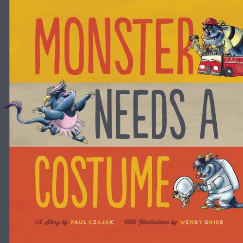 Monster Needs a Costume (Monster & (Children In Need Costumes)